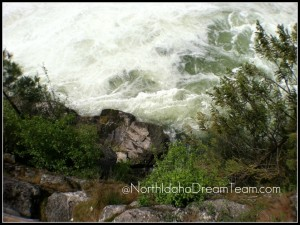 Spokane River - Below the Post Falls Dam